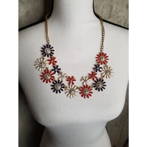 Jewelry - Patriotic Necklace floral